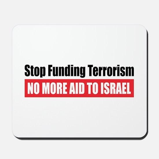 Stop Funding Mousepad