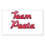 August 23 2012 Team Peeta 2 Sticker (Rectangle