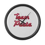 August 23 2012 Team Peeta 2 Large Wall Clock