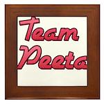 August 23 2012 Team Peeta 2 Framed Tile