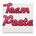 August 23 2012 Team Peeta 2 Tile Coaster