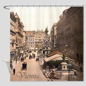 Vintage Vienna Shower Curtain