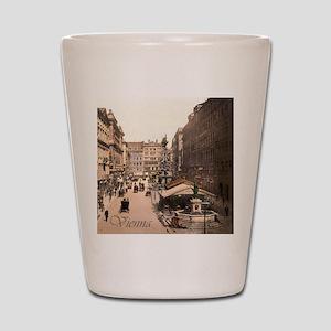 Vintage Vienna Shot Glass