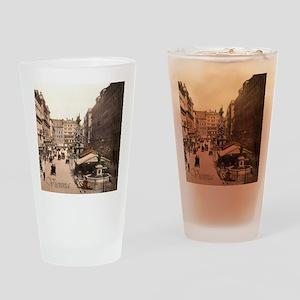 Vintage Vienna Drinking Glass