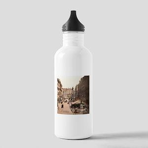 Vintage Vienna Stainless Water Bottle 1.0L