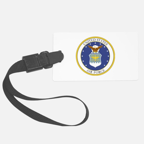 USAF Coat of Arms Luggage Tag