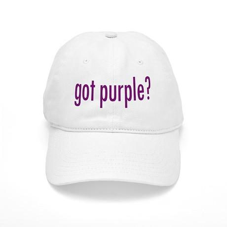 got purple? Cap
