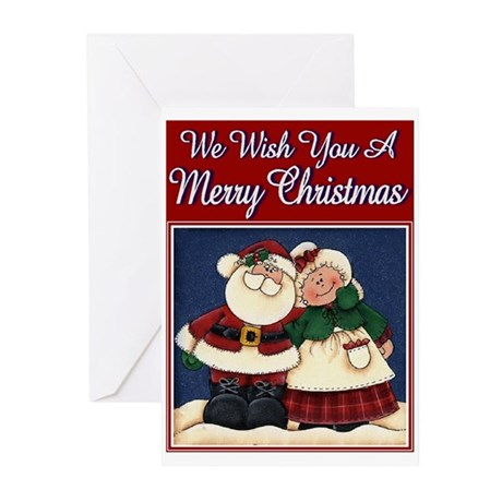 Christmas Couple Greeting Cards (Pk of 10)