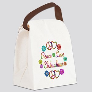 Chihuahuas Canvas Lunch Bag