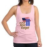 Never Forget 9-11 - With Buildings Racerback Tank
