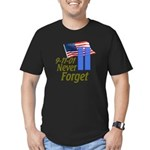 Never Forget 9-11 - With Buildings Men's Fitted T-
