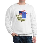 Never Forget 9-11 - With Buildings Sweatshirt