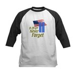 Never Forget 9-11 - With Buildings Kids Baseball J