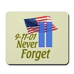 Never Forget 9-11 - With Buildings Mousepad