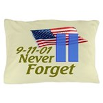 Never Forget 9-11 - With Buildings Pillow Case