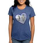 Emperor Penguins Womens Tri-blend T-Shirt