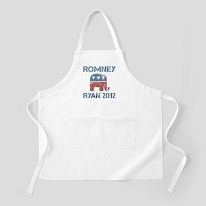 Vintage Romney Ryan R Apron