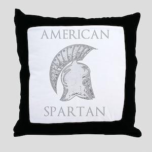 AMERICAN SPARTAN Throw Pillow