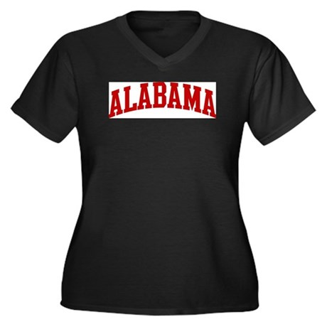 ALABAMA (red) Plus Size T-Shirt