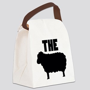 The Black Sheep Canvas Lunch Bag
