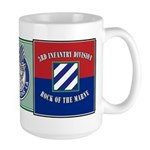 3ID Rock of the Marne Large Mug