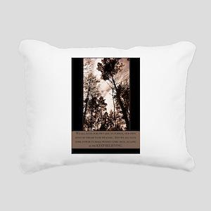 Keep Believing Rectangular Canvas Pillow
