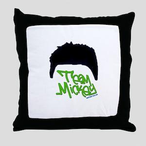 Team Mickey Throw Pillow