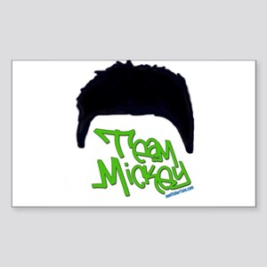 Team Mickey Sticker (Rectangle)