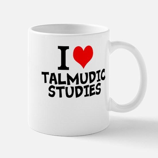 I Love Talmudic Studies Mugs