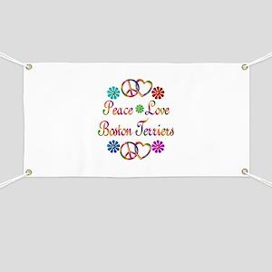 Boston Terriers Banner