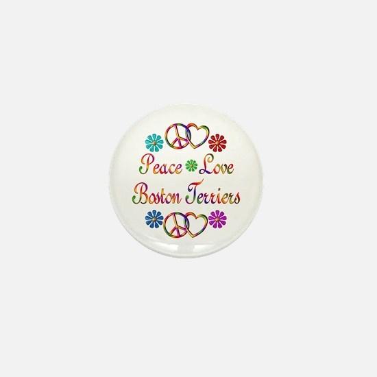 Boston Terriers Mini Button