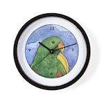 Eclectus Wall Clock