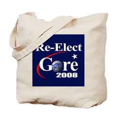 RE-ELECT GORE Tote Bag
