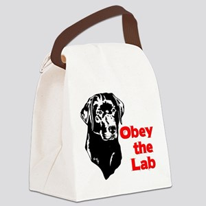 Obey the Lab Canvas Lunch Bag