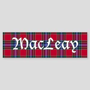 Tartan - MacLeay Sticker (Bumper)