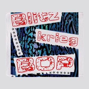 Blitzkrieg Bop Throw Blanket