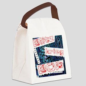 Blitzkrieg Bop Canvas Lunch Bag