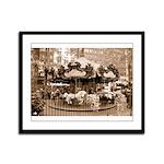 Bryant Park Framed Panel Print