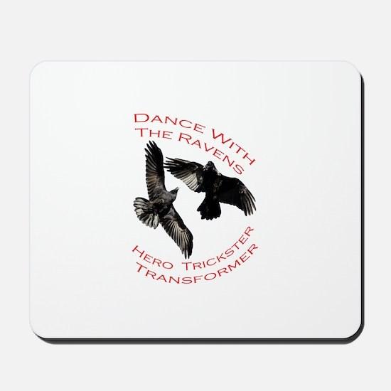 Raven the Transformer Mousepad