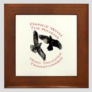 Raven the Transformer Framed Tile