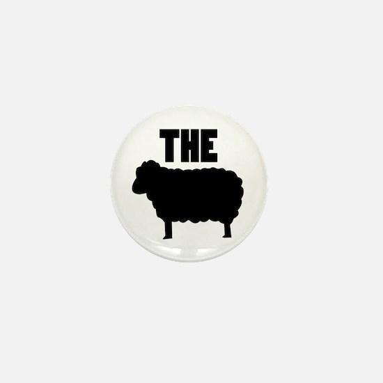 The Black Sheep Mini Button