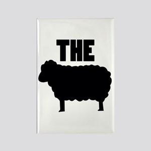 The Black Sheep Rectangle Magnet