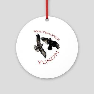 Whitehorse, Yukon Ornament (Round)