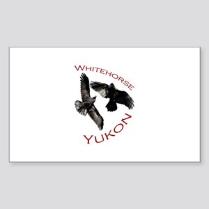 Whitehorse, Yukon Sticker (Rectangle)