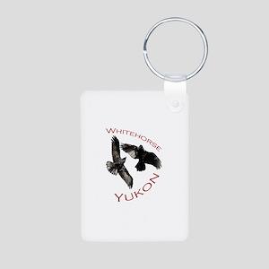 Whitehorse, Yukon Aluminum Photo Keychain