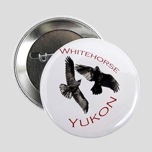 """Whitehorse, Yukon 2.25"""" Button"""