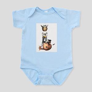 Cowgirl1 Infant Creeper