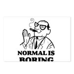 Boring is Normal 2 Postcards (Package of 8)