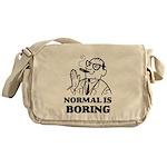 Boring is Normal 2 Messenger Bag