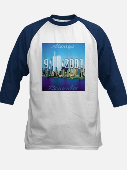 Always Remember 9/11 Kids Baseball Jersey